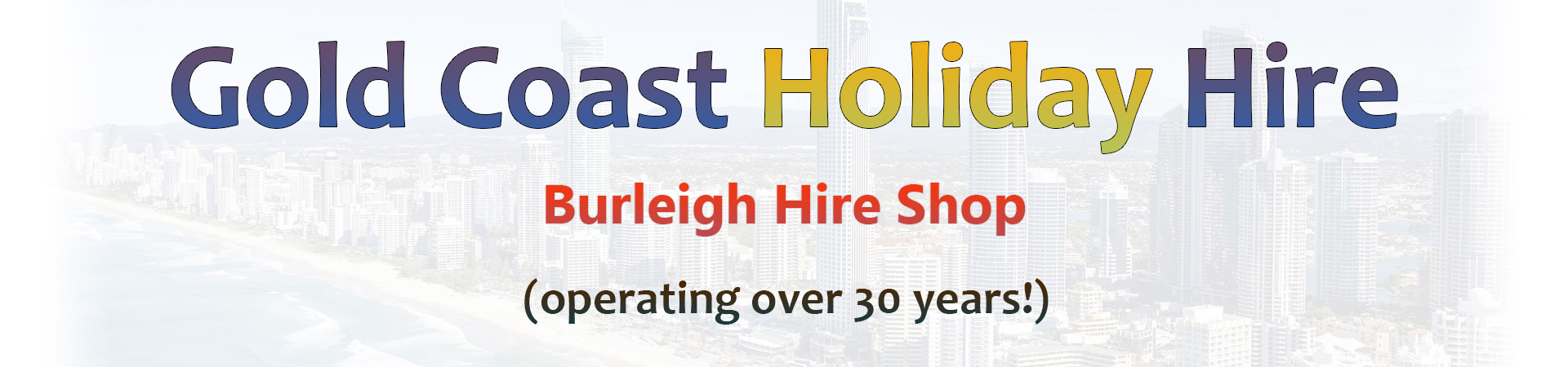 Gold Coast Holiday Hire Logo